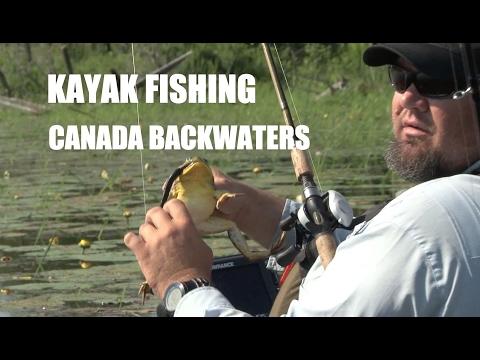Kayak Bass Fishing Canada Backwaters -  SEASON 3 - FULL EPISODE