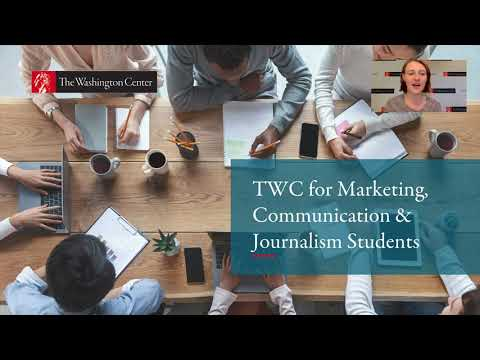 TWC for Marketing, Communication and Journalism Students