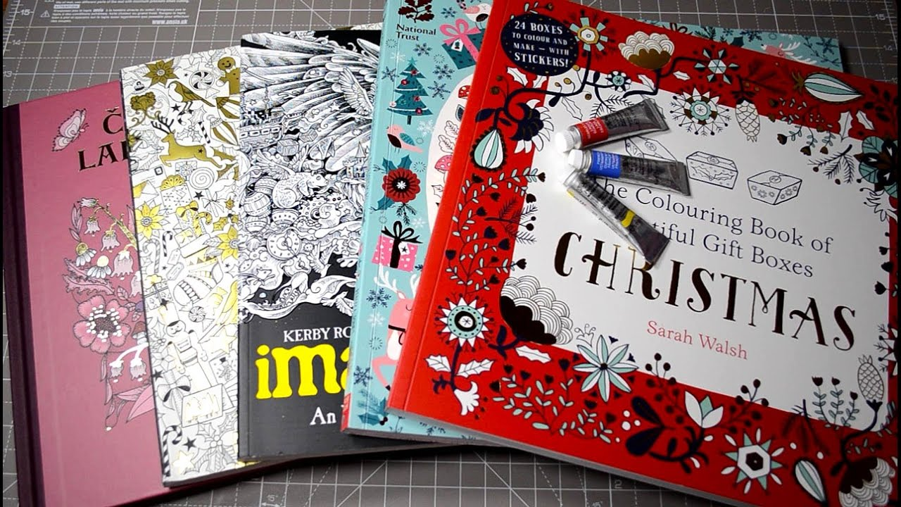 New Coloring Books Unboxing