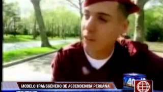 Modelo transgénero de origen peruano podría ser un ángel de Victoria