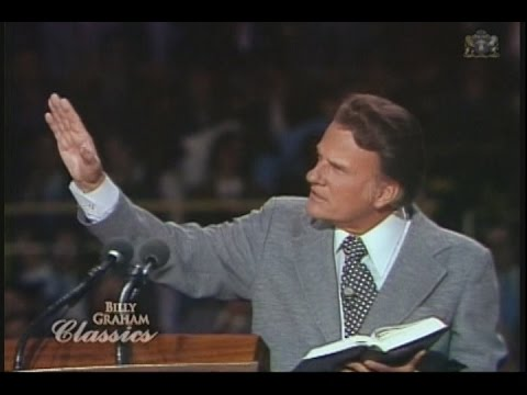 Billy Graham - Is the handwriting on the wall, America?
