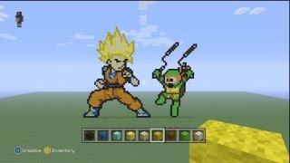 Minecraft Pixel Art ep.2- H2O Delirious