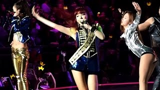 [HD Fancam] 151202 2NE1 - Fire + I Am The Best @ MAMA 2015