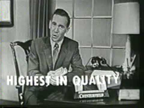 Vintage commercials - Chesterfield cigarettes.