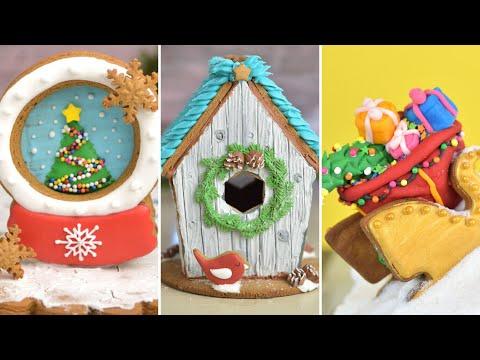 best-3d-christmas-cookies-|compilation|