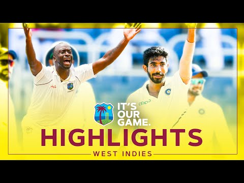 Roach Stars and Bumrah Takes Hat-Trick! | Classic Match Highlights | Windies v India 2019