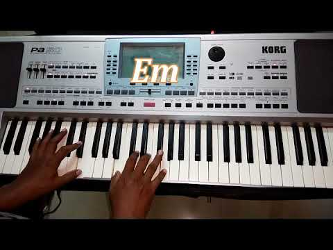 உம்மையே நான் நேசிப்பேன் (Ummaiye Naan Nesipen) Tamil Christian Song Keyboard Chords displayed