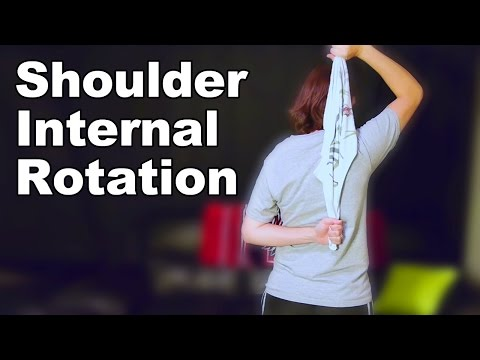 Shoulder Internal Rotation Stretches Ask Doctor Jo