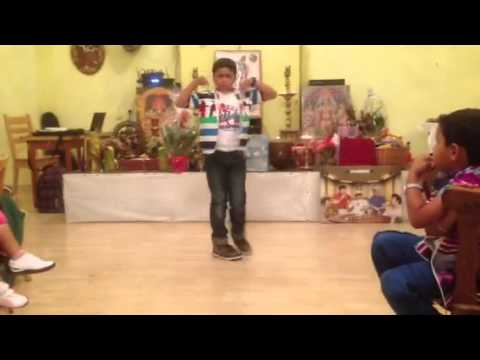 Afsar in Singam dance 2