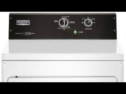 Review: Maytag commercial Dryer MEDP575G MGDP575G