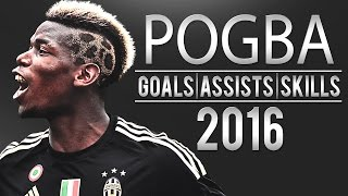 Paul Pogba - King of Serie A | 2016 | HD