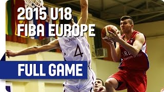 Latvia v Serbia - Group B - Live Stream - 2015 U18 European Championship Men