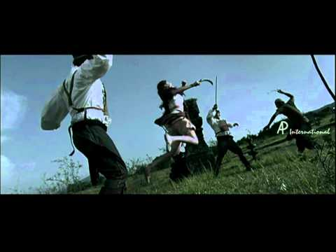 Urumi Tamil Movie Scenes | Prithiviraj and Genelia fight back The Portuguese | Prabhu Deva | Arya