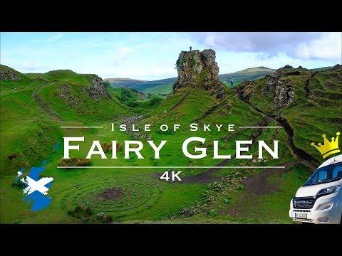 Drohne 4K: Schottland - Isle of Skye - Fairy Glen