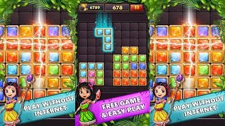 Block Puzzle Gems Classic 1010 Android Gameplay screenshot 1