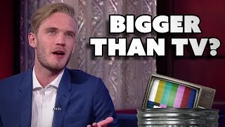 PewDiePie is BIGGER THAN TELEVISION? - Dude Soup Podcast #36