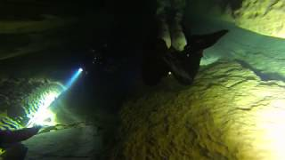 Cave Diving in Ressel, (Cabouy & Saint Georges).
