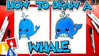 How To Draw A Funny Whale #stayhome and draw #withme