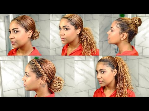 Office Hairstyles For Curly Hair Quick Simple
