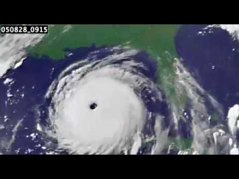 Animation of Hurricane Katrina