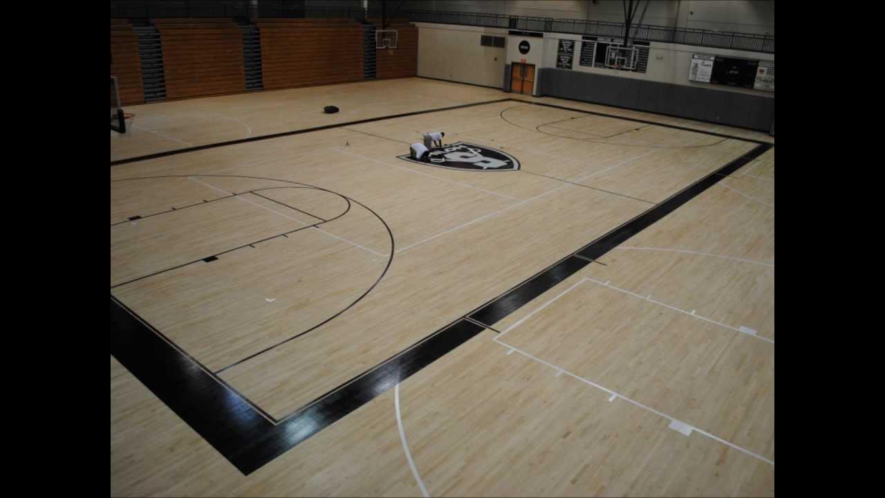 Gym Floor Line Painting  Gurus Floor