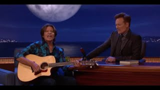 """John Fogerty (Creedence Clearwater Revival) """"Have You Ever Seen the Rain"""" LIVE on CONAN"""
