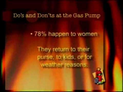 Gas Pump / Petrol Station / Fuel Station Safety