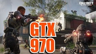 Call of Duty Black Ops III - Multiplayer | GTX 970 & i7 6700k | 1080p Maxed Out | FRAME-RATE TEST