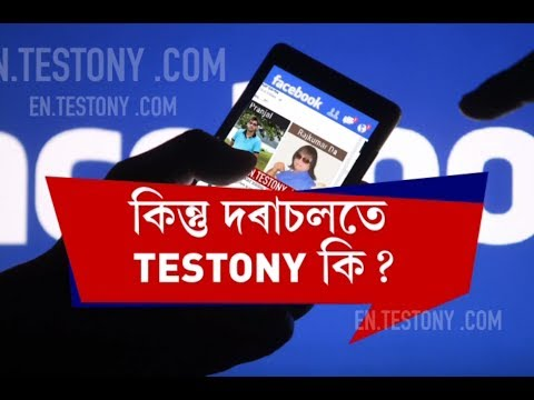 Exclusive report on Testony; Assam's latest craze on Facebook