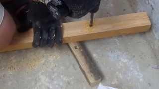 10 10 Монтаж чернового пола на лоджии