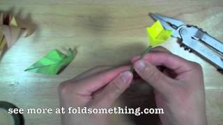 How To Make A Paper Boutonniere From Origami Flowers