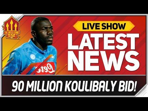 Man Utd Koulibaly Transfer Rejected! Man Utd News