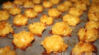 Best Coconut Macaroons!!! (easy To Make) Episode #02