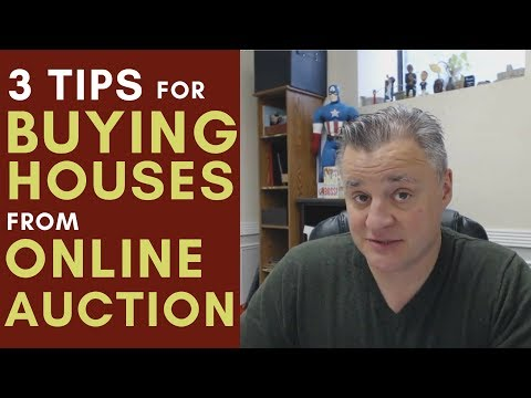 3 Tips For Buying Houses From Online Auctions With Matt Faircloth | Mentorship Monday 077