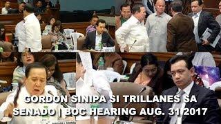 Trillanes binastos si Gordon at Tito Sen, Nasipa at napaalis sa senado at sampahan ng kaso