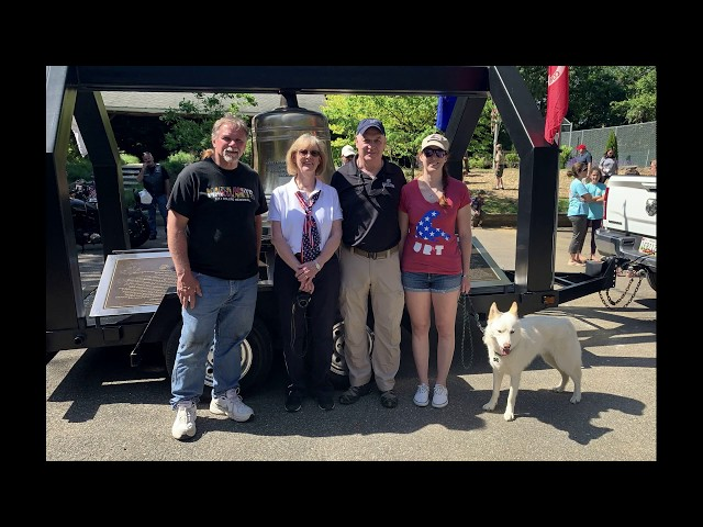 Maryland's 9/11 Rolling Memorial Visit to Edgewater on Memorial Day