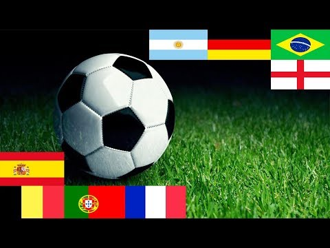 Top 10 Best & Strongest Football Teams In || FIFA WORLD CUP 2018 || The World