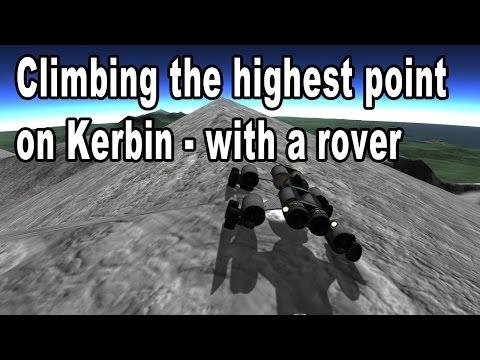 Kerbal Space Program - Climbing Mount Keverest, the highest elevation on Kerbin