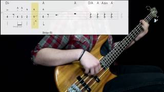 Queen - Bohemian Rhapsody (Bass Cover) (Play Along Tabs In Video)