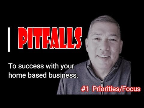 Home based business ...  PITFALLS.  How to succeed in your business online.