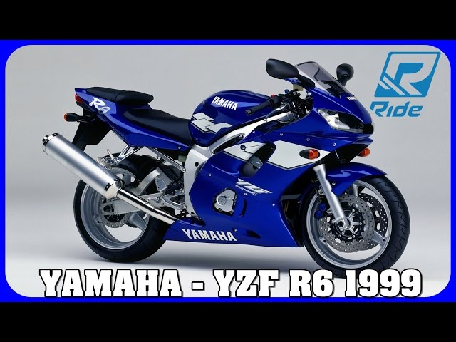 Ride : Yamaha Yzf R6 1999 - Gameplay 1080p