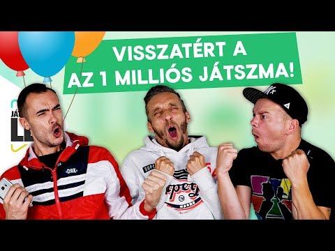 VISSZATÉRT AZ 1 MILLIÓ FELIRATKOZÓS JÁTSZMA! A SzkiTon TV Csapata Leszámol   Játsszuk Le!