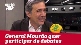 General Mourão quer participar de debates | Marco Antonio Villa