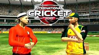 International Cricket 2010 Gameplay || England vs Australia