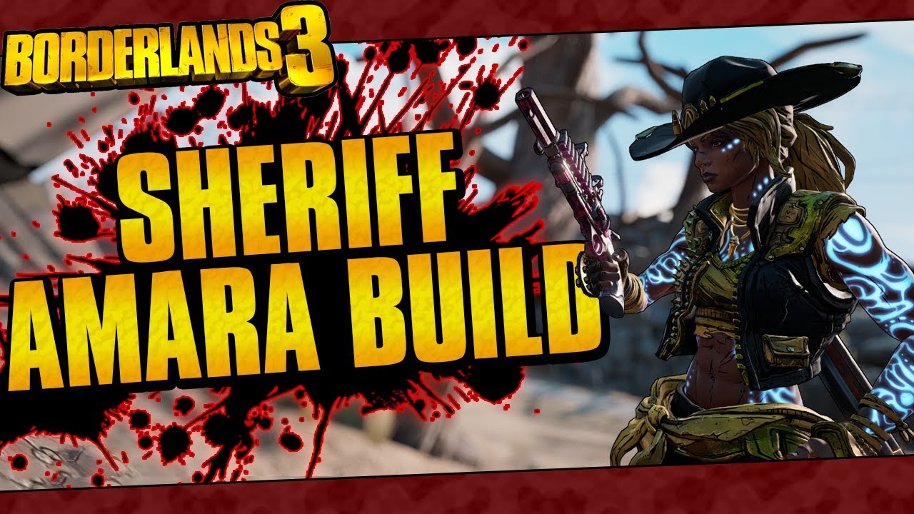 Borderlands 3 | Sheriff Amara Build (Best Jakobs/Cast Build, Destroy Everything, Lvl 65 Mayhem 10!) thumbnail
