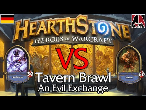 Hearthstone - Tavern Brawl - Deutsch / German - An Evil Exchange