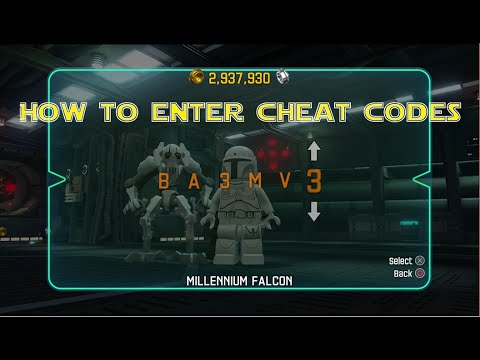 <b>LEGO Star Wars</b> The <b>Force Awakens</b> - How To Enter <b>Cheat Codes</b>! (With ...
