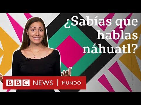 Las palabras que el náhuatl le dejó al español (y que usas sin saber) | BBC Mundo