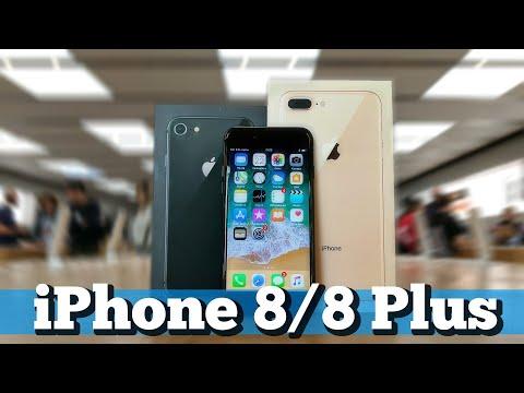 Распаковка iPhone 8, 8 Plus и мнение
