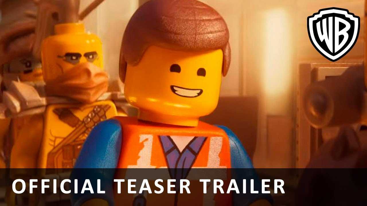 Lego Filmen 2 Official Teaser Trailer Dk Youtube